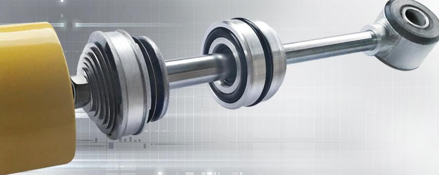 Tecnologia monotubo OffShox. Sistema de anéis e vedação.