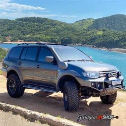 Pajero Dakar com Kit Lift OffShox
